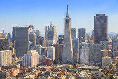 San Francisco Transamerica Pyramid Arkivfoton