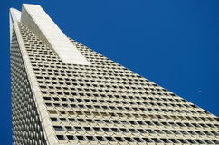 San Francisco - Transamerica Pyramid. The Transamerica Pyramid is the tallest skyscraper in the San Francisco skyline Royalty Free Stock Photo