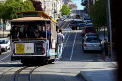 San Francisco trolley Royalty Free Stock Photos