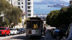 San francisco trolley car Royalty Free Stock Photography