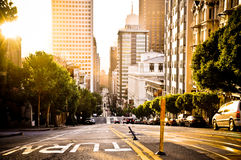 San Francisco Turn Royalty Free Stock Photography