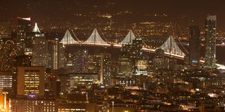 San Francisco from the Twin Towers Stock Images