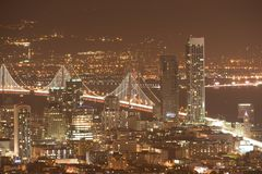 San Francisco from the Twin Towers Royalty Free Stock Photo