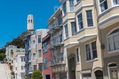 San Francisco, Telegraph Hill stock photo