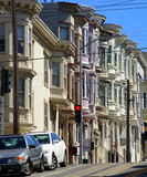 San Francisco. A typical street in the old part of San Francisco royalty free stock photos