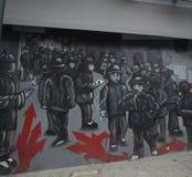 San Francisco ulicy sztuka obrazy stock