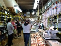 San Francisco, uma despensa italiana fotos de stock