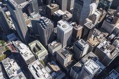 San Francisco Urban Center Aerial Royalty Free Stock Image
