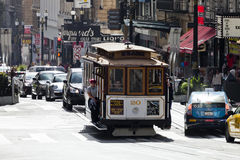 San Francisco-USA, The Cable car tram Stock Image