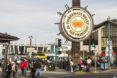 San Francisco, USA - Fishermans Wharf of San Francisco Royalty Free Stock Photos