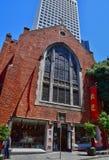 San Francisco; USA - july 13 2016 : Chinatown royalty free stock images