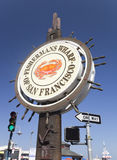 SAN FRANCISCO, USA - OCTOBER 25: Fishermans Wharf Royalty Free Stock Images