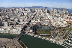 SAN FRANCISCO USA-San Francisco Giants Stadium Arkivbild