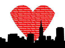San Francisco valentine Royalty Free Stock Images