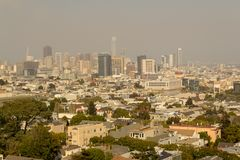 San Francisco van de binnenstad royalty-vrije stock fotografie