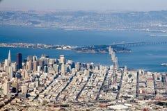 San Francisco van de binnenstad Royalty-vrije Stock Afbeeldingen
