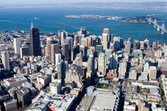 San Francisco van de binnenstad Royalty-vrije Stock Foto