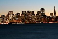 San Francisco van de binnenstad na s Royalty-vrije Stock Fotografie