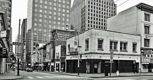 San Francisco van de binnenstad, Verenigde Staten royalty-vrije stock afbeeldingen