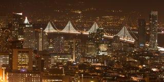 San Francisco van de Tweelingtorens Stock Afbeeldingen