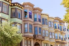 San Francisco Victorian alloggia la California Fotografia Stock Libera da Diritti