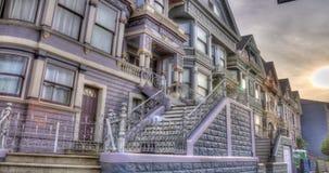 San Francisco Victorian Architecture vídeos de arquivo