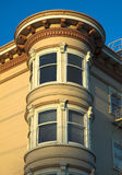 San Francisco Victorian house. A wooden Victorian Style building in San Francisco Stock Image