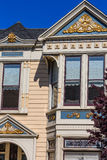 San Francisco Victorian houses near Alamo Square California Royalty Free Stock Photos