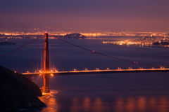 San Francisco View Royalty Free Stock Images
