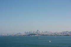 San Francisco view. San Francisco city view from golden gate Stock Photos
