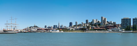 San Francisco view Stock Photography