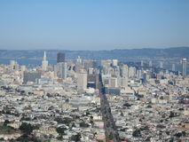 San Francisco View. California, USA Royalty Free Stock Photos