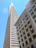San francisco view. Pacific coast Royalty Free Stock Photography