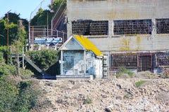 San Francisco. View on Prison Alcatraz. Maximum high security federal prison. USA Stock Image
