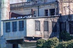 San Francisco. View on Prison Alcatraz. Maximum high security federal prison. stock photo