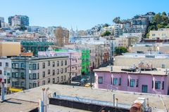 San Francisco view Stock Image