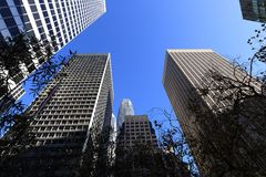 San Francisco w centrum, Obraz Royalty Free
