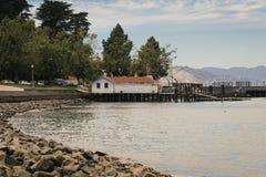 San Francisco Water Front Aquatic Park immagine stock libera da diritti