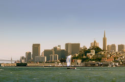 San Francisco waterfront Stock Photography