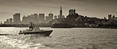 San Francisco Waterfront Royalty Free Stock Photo