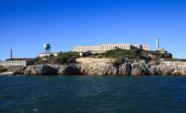 San Francisco West Side of Alcatraz Stock Photography