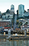 San Francisco from the Wharf Royalty Free Stock Photography