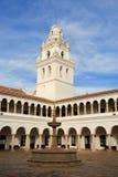 San Francisco Xavier University, Sucre, Bolivië. Royalty-vrije Stock Afbeelding