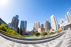 San Francisco Yerba Buena Gardens park, USA Stock Image