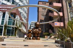 San Francisco Zuckerberg General Hospital y centro del tratamiento del trauma, 11 fotos de archivo