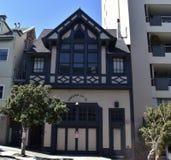 San Franciscos ogienia domu historyczny silnik 31 obraz royalty free