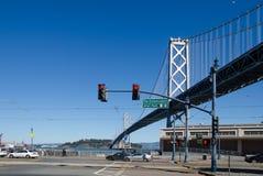 San FranciscoSan Francisco Bay Bridge. SAN FRANCISCO, CALIFORNIA - MARCH 1, 2015: San Francisco Bay Bridge stock photos