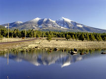 San Francisko Peaks, Arizona Royalty Free Stock Images