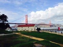 San Franciso Bay Bridge. Taking a walk through San Francisco Royalty Free Stock Image