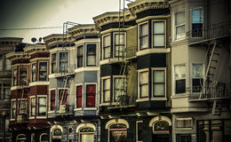 San Franciso. San Francisco Typical Landscape in Color Royalty Free Stock Photography